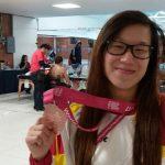 Plata y bronce para Isabel Hernández en el Mundial IPC Mejicano